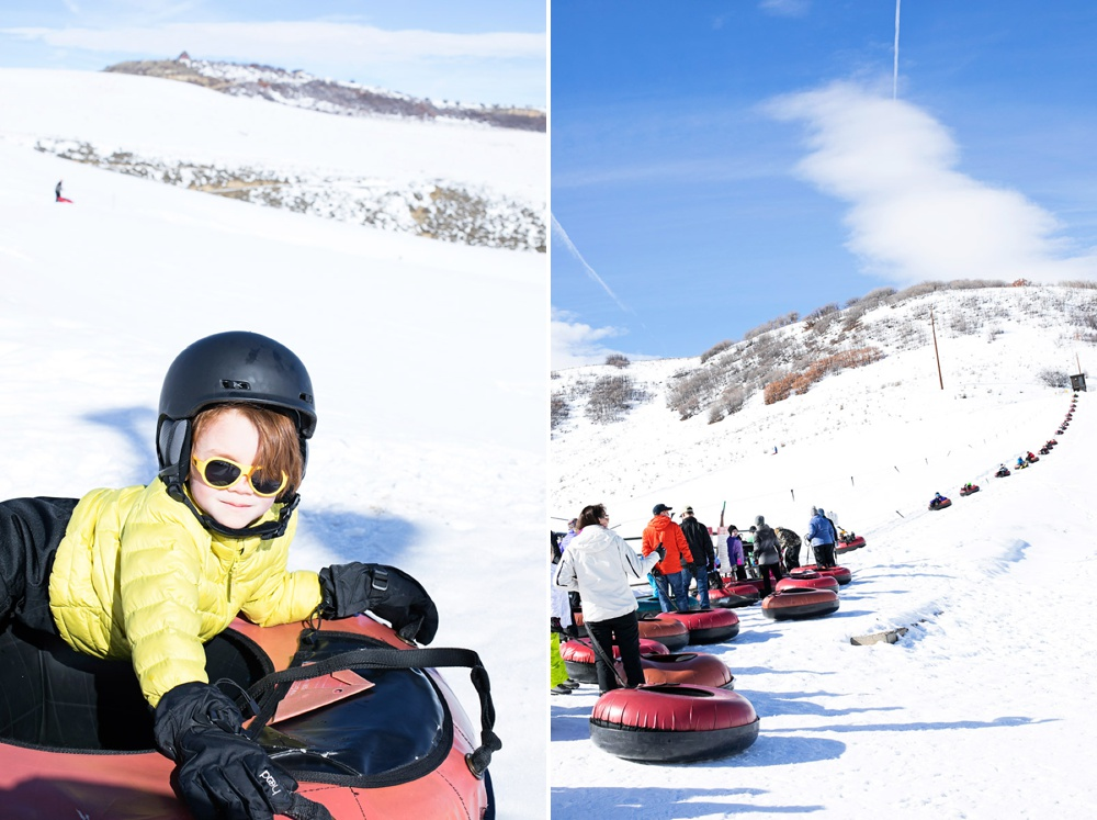 Steamboat Springs Winter Tubing at Saddleback Ranch