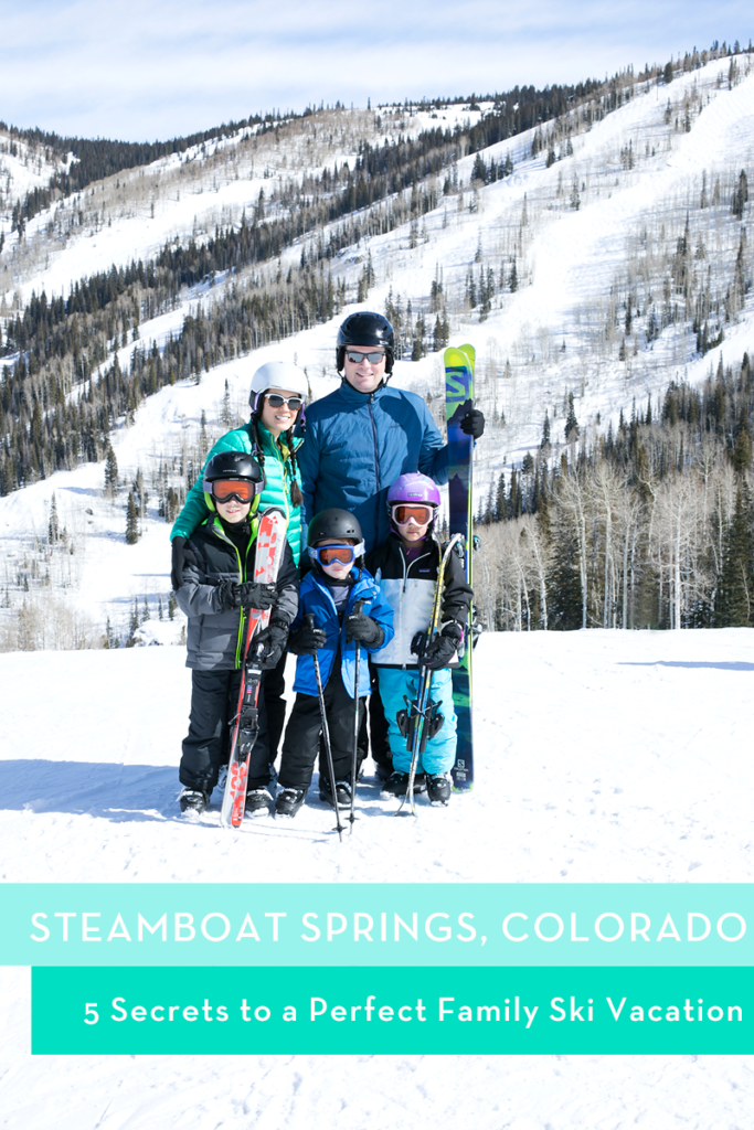 5 Secrets to a Perfect Family Ski Vacation // Steamboat Springs