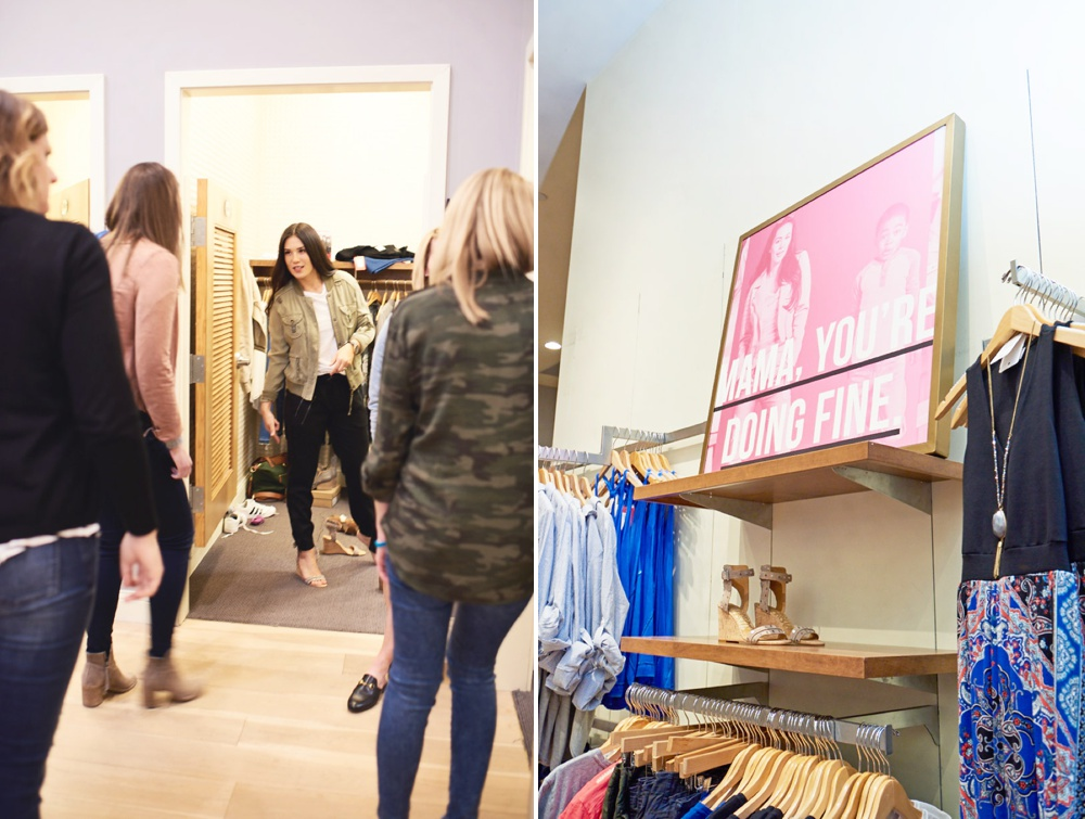 Shopping with a Personal Stylist at Evereve