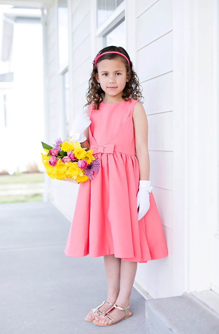 Janie and Jack Girls Easter Dress