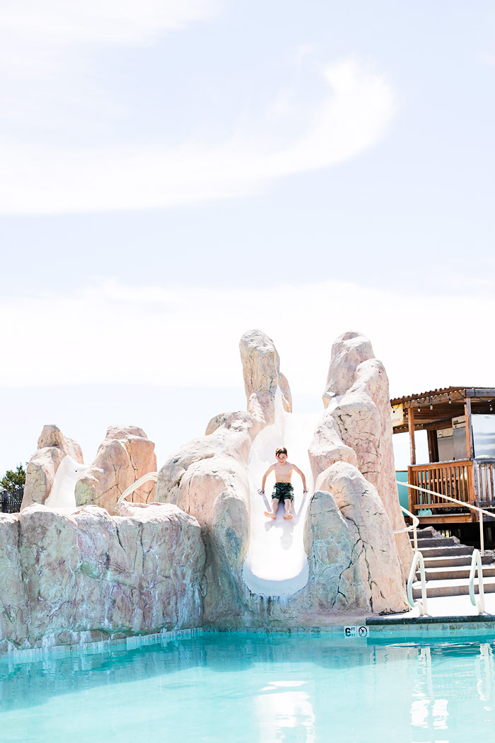 Swimming at Zion Ponderosa Resort
