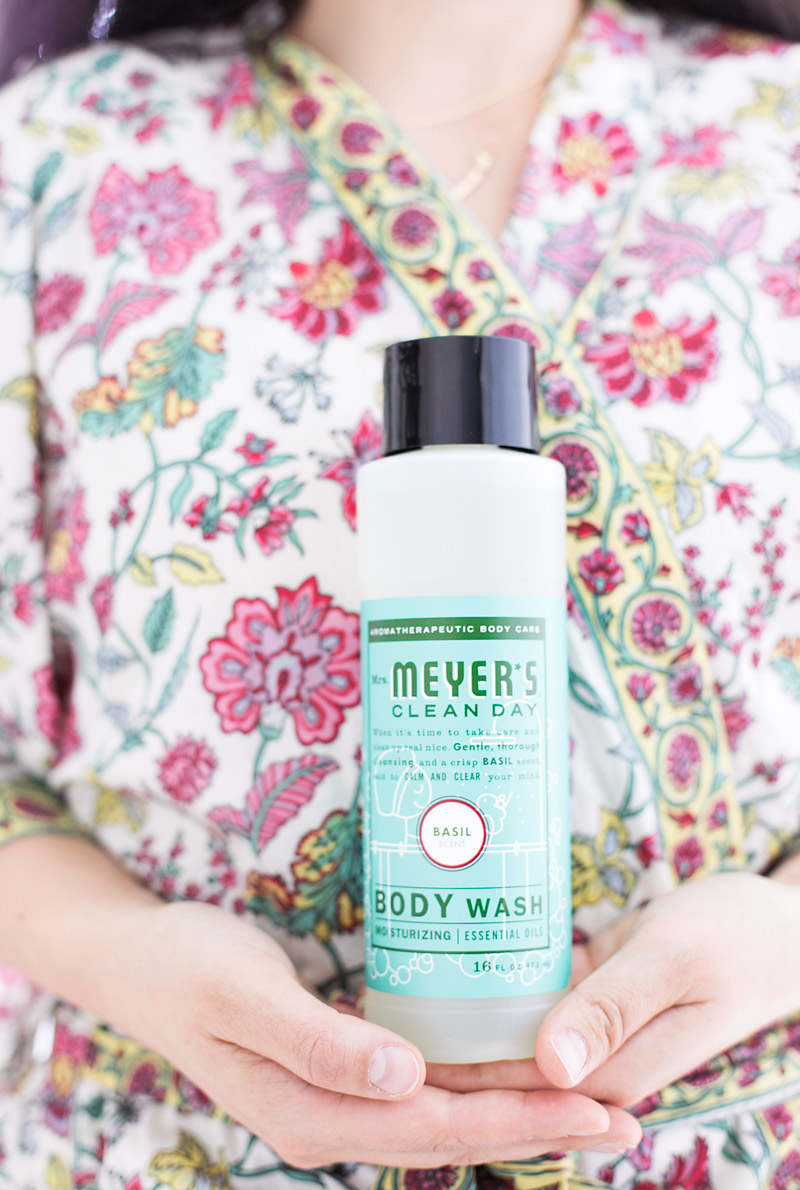 Mrs Meyers Clean Body Wash in Basil