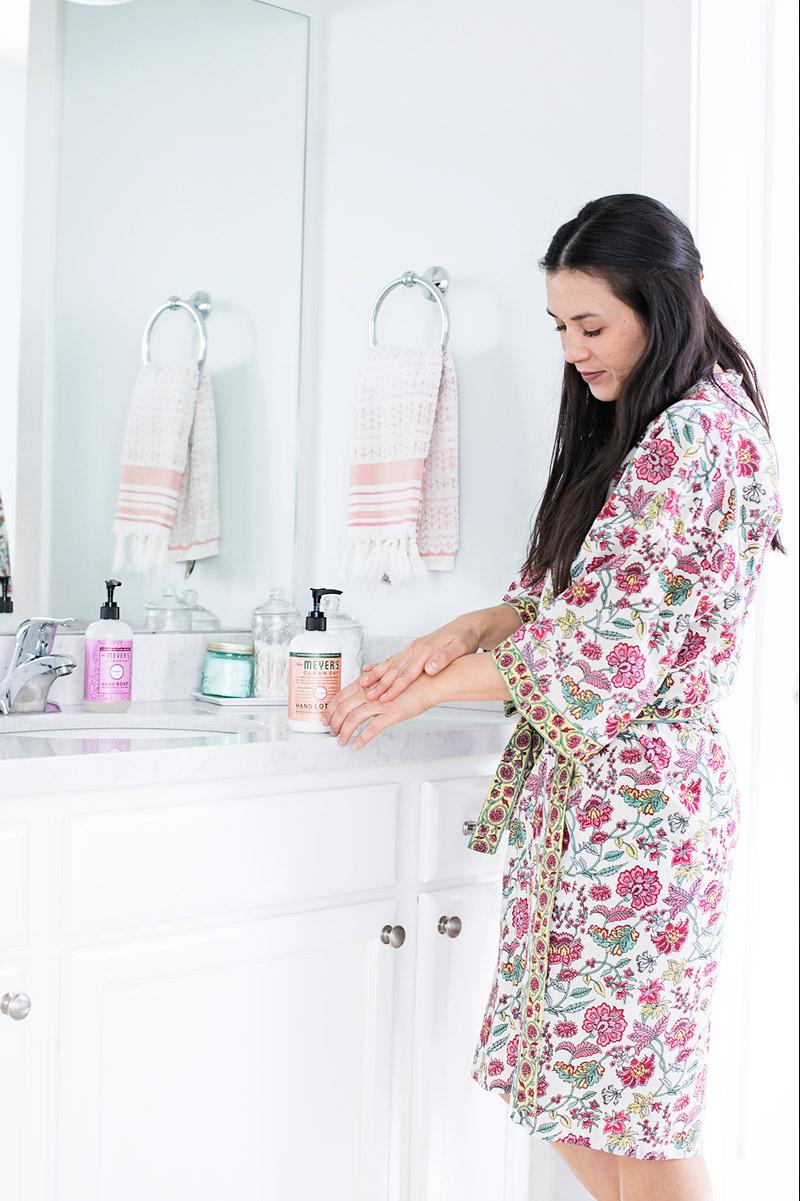 Bath Time Skin Care Routine