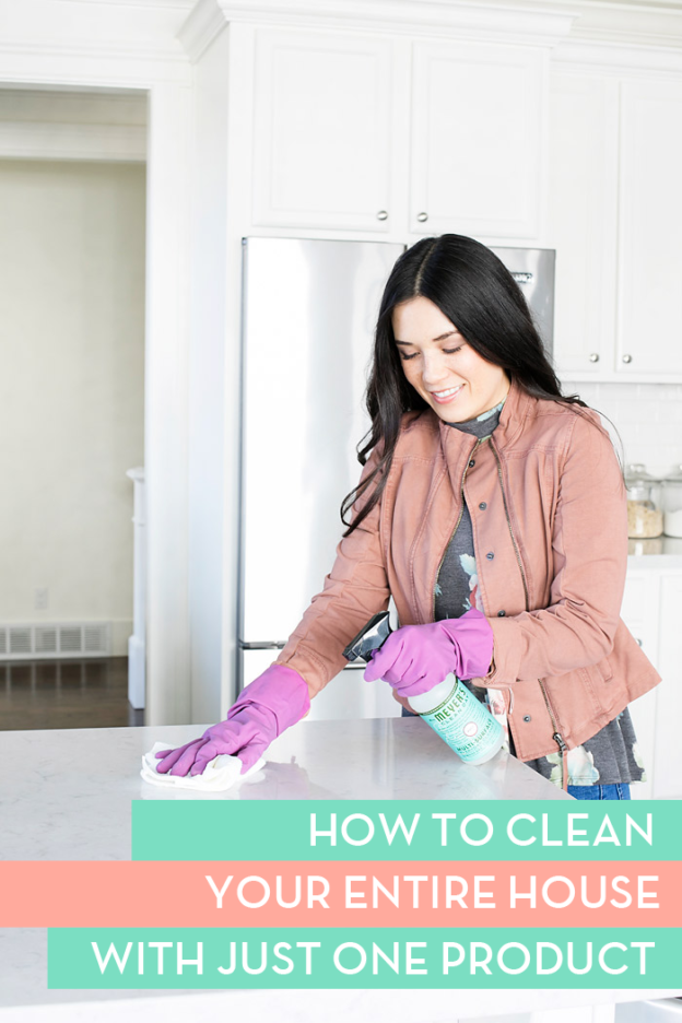 How to Clean Your House with Just one Product