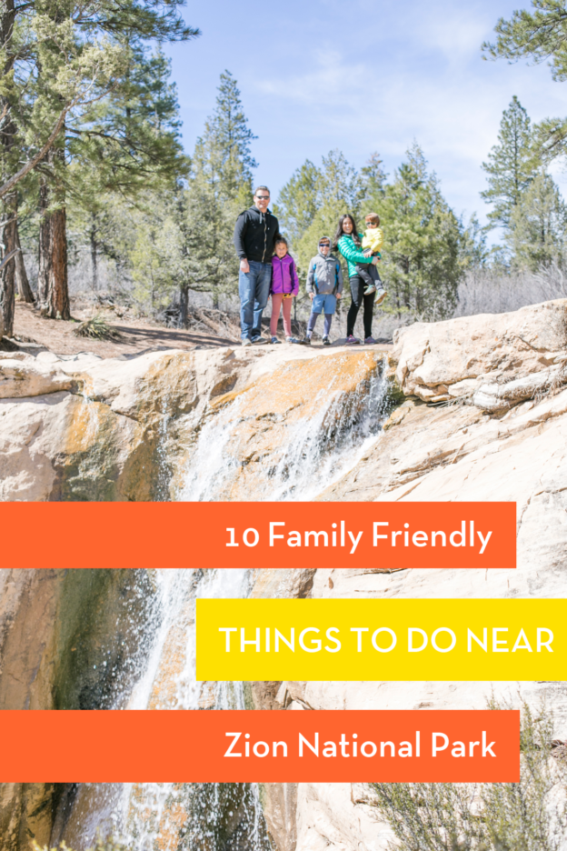 Family Friendly Things to Do Near Zion National Park Utah