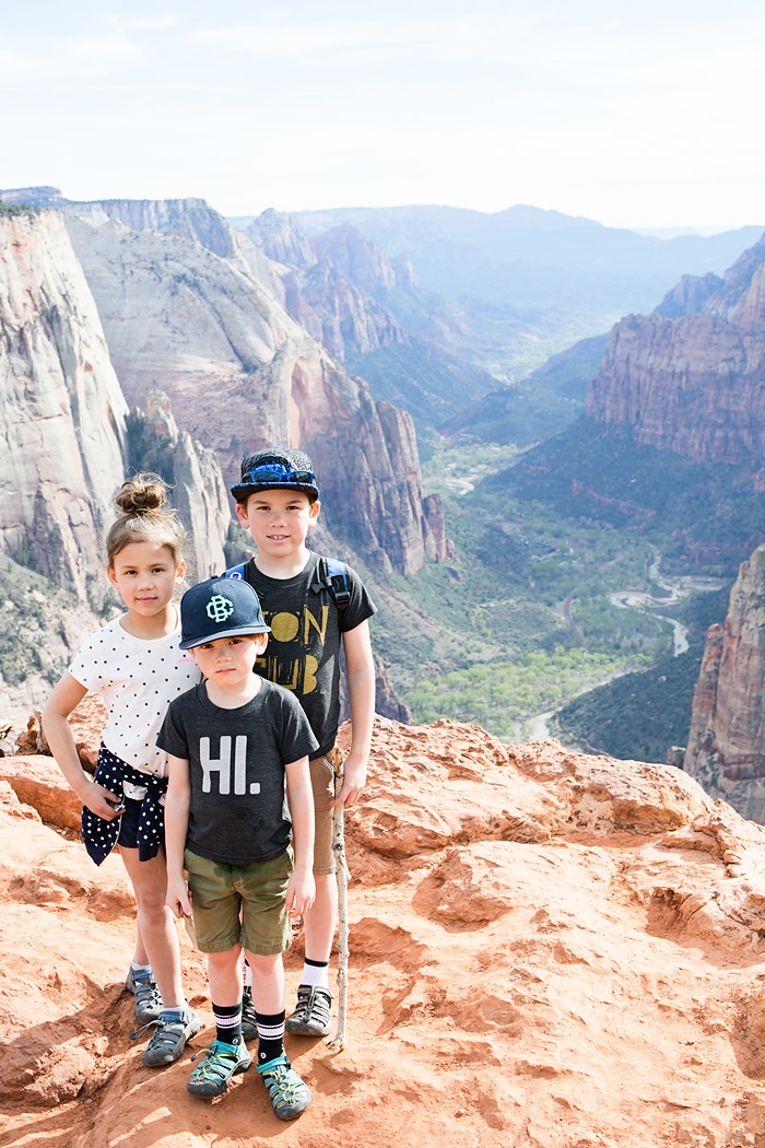 Observation Point Hike at Zion National Park