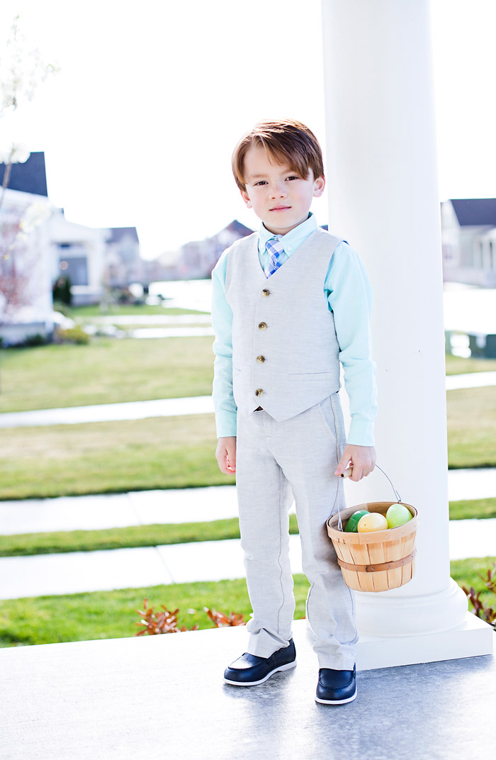 Janie and Jack Linen Suit for Boys