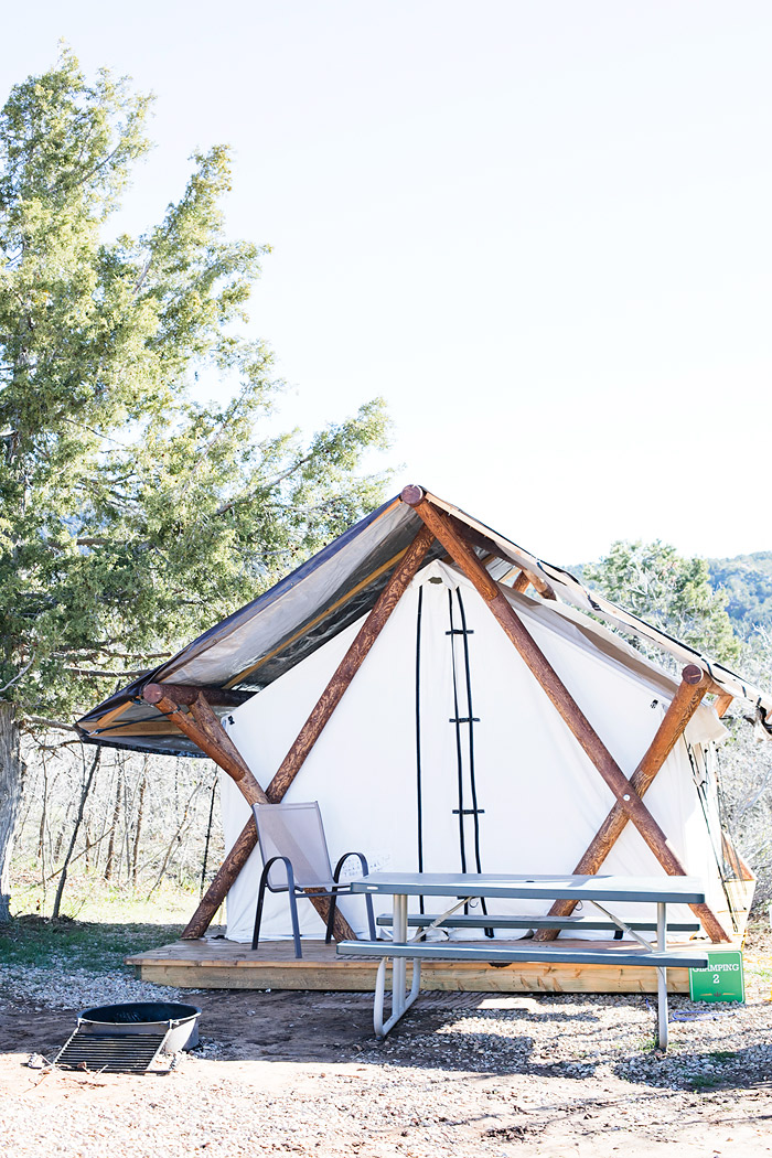 Zion Ponderosa Ranch Resort Glamping Tent