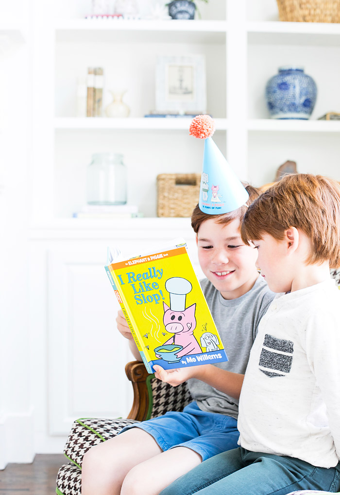 Kids Reading the I Really Like Slop Book