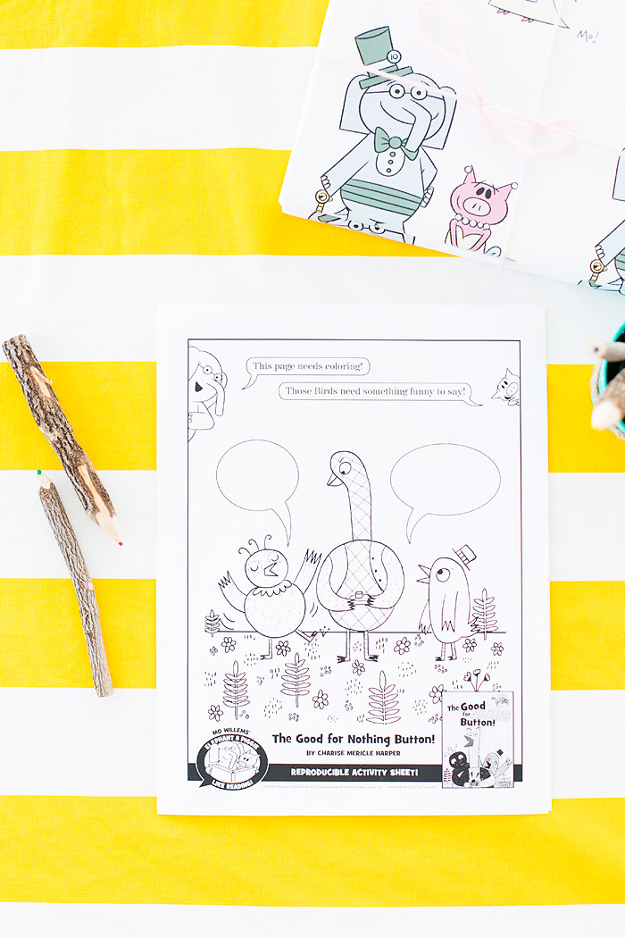 Elephant and Piggie Free Download Activity Coloring Pages