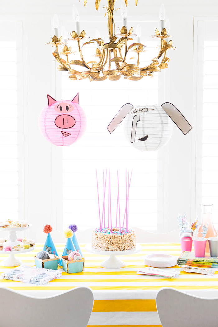 Birthday Party Celebrating 10 Years of Elephant and Piggie Book