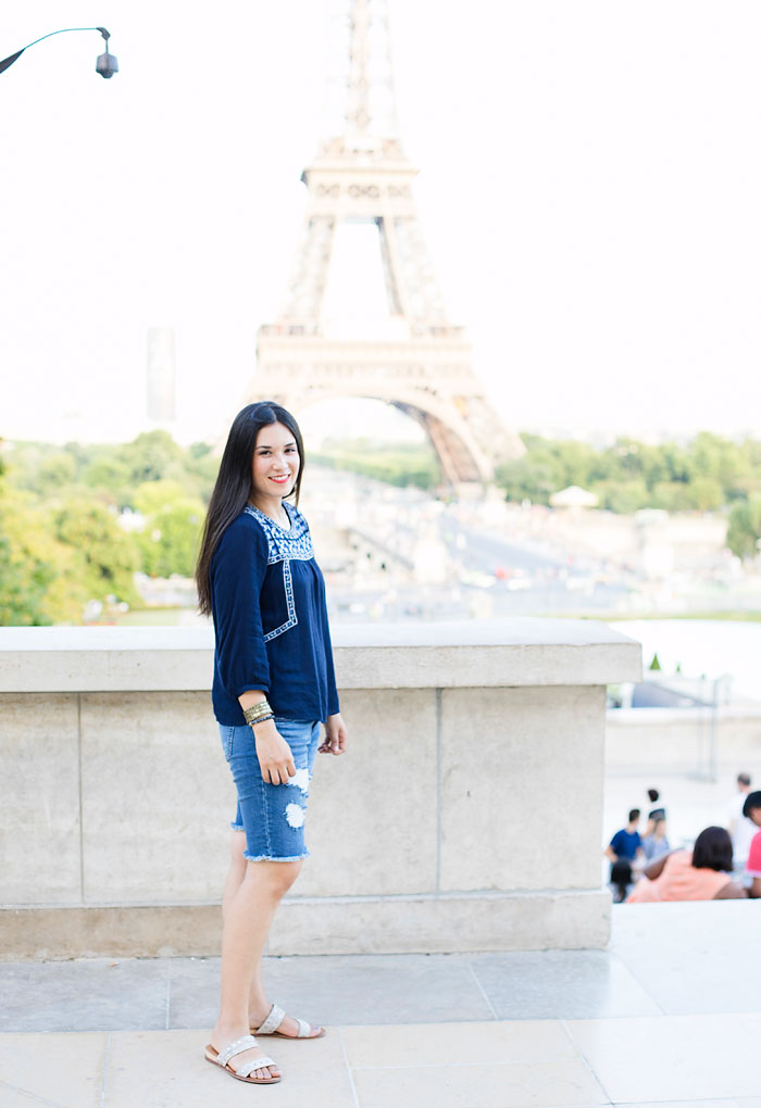 Eiffel Tower Paris Fashion