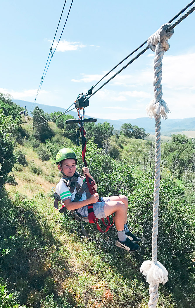 Steamboat Springs Zipline Adventure