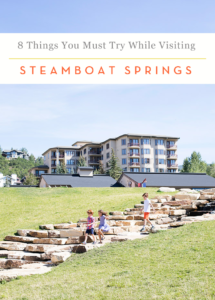 Things to do in Steamboat Springs in the Summer