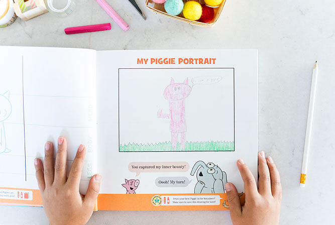 Mo Willems 'We are in an Art-ivity Book!' An interactive Art activity book for creative kids