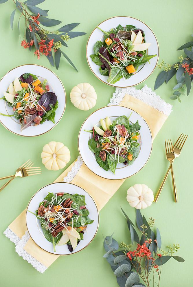 Thanksgiving Fall Salad Recipe