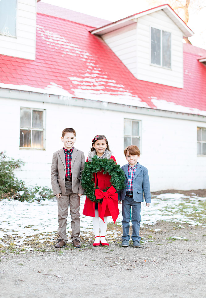 Holiday Outfits for Kids // Janie and Jack