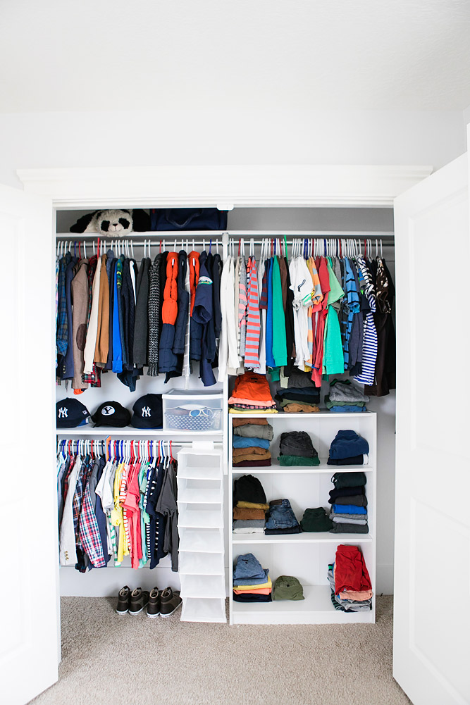 Closet Organization for Kids