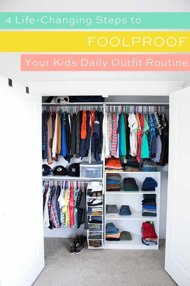Weekly Outfit Planning for Kids
