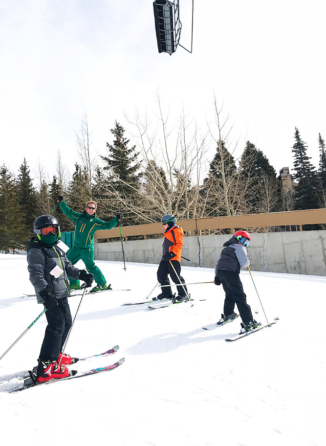 Deer Valley Adventure Club Ski School