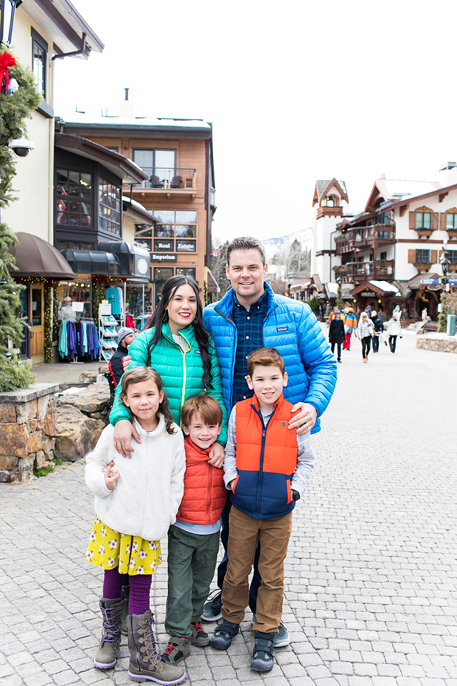 Colorado Family Ski Vacation