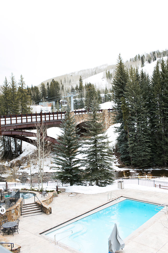 Lion Square Lodge Pool Vail Colorado