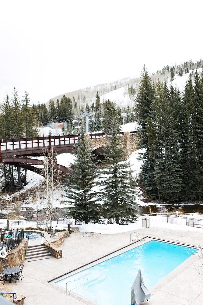 Lion Square Lodge Pool Vail Colorado