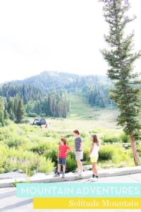 Family Fun at Solitude Mountain Resort