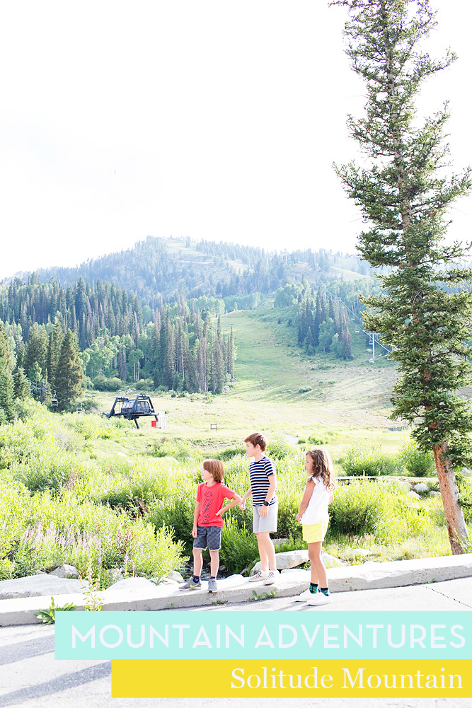 Summer on the Mountain  // Mountain Adventures at Solitude Resort