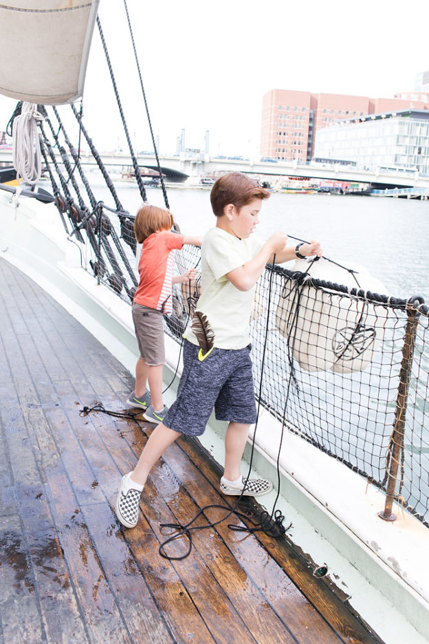 Kids Sending Tea Overboard
