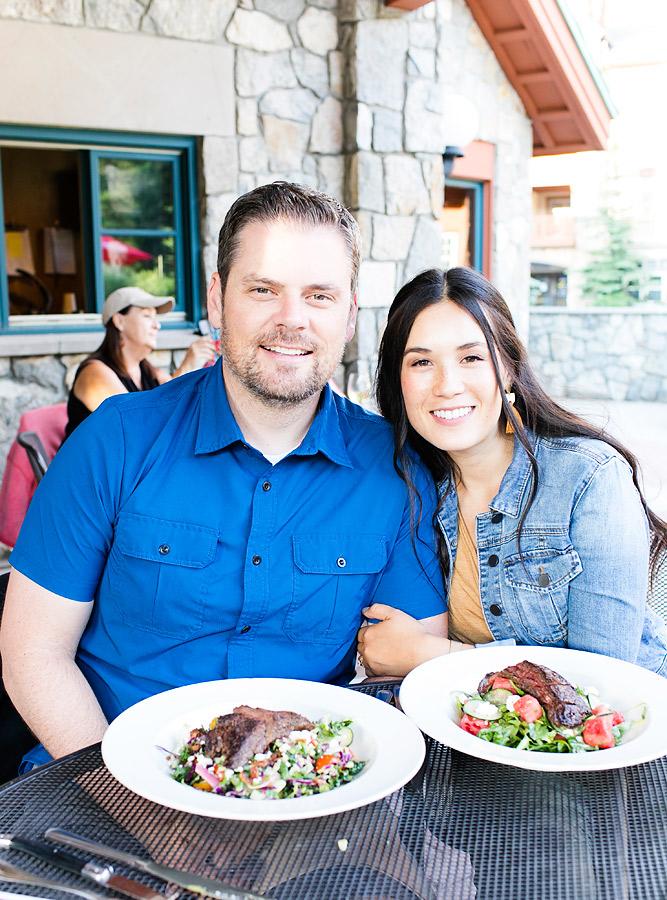 Dinner at Honeycomb Grill Utah