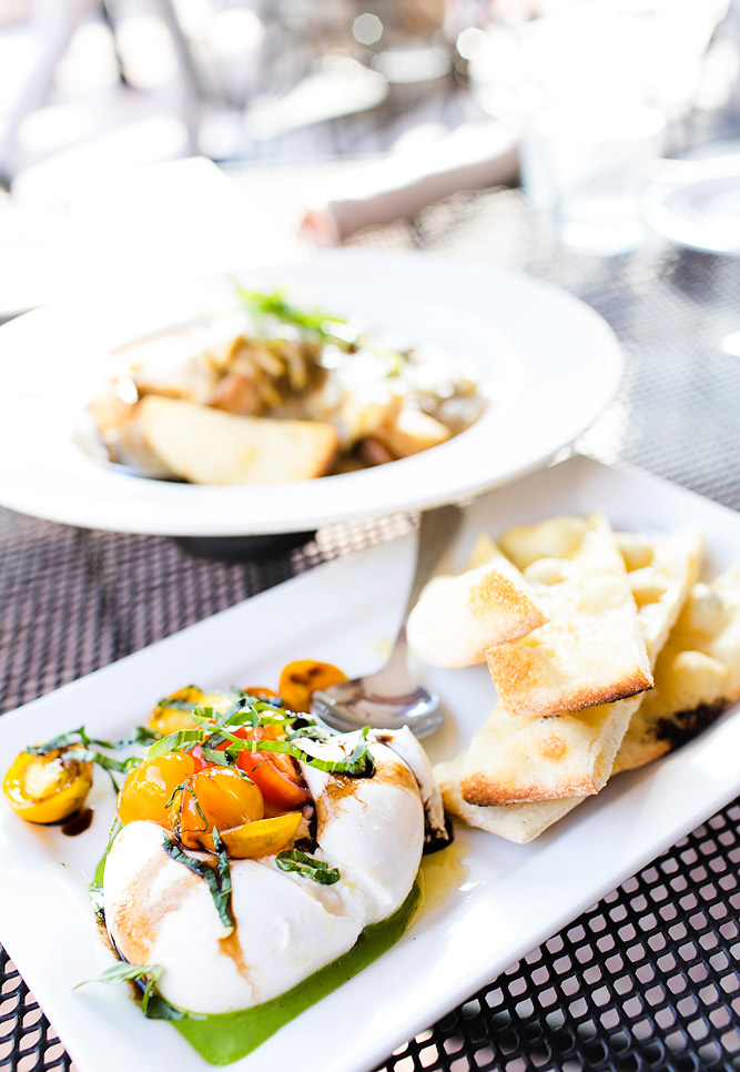 Burrata Appetizer at Solitude Mountain Resort