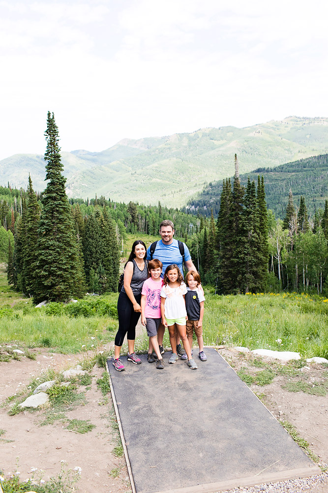 Family Friendly Hiking at Solitude Mountain Resort
