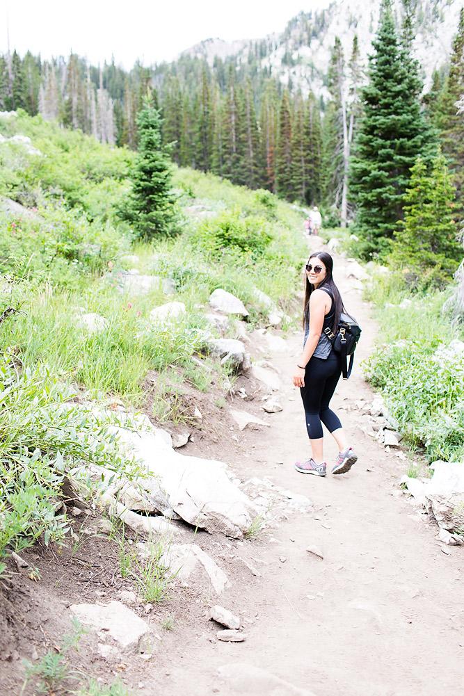 Hiking at Solitude Mountain Resort