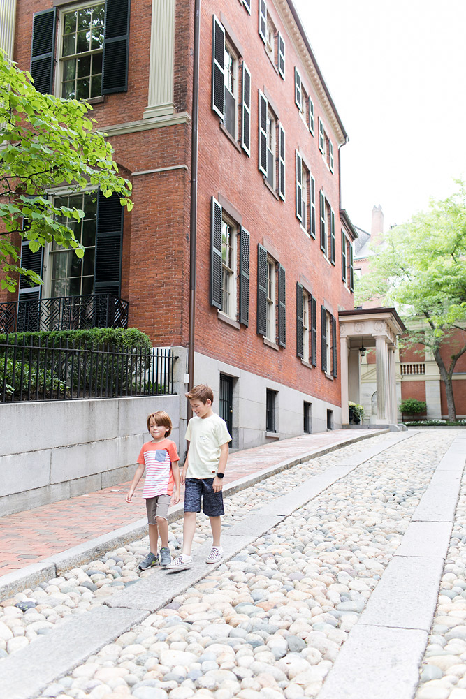 Kids Exploring Boston