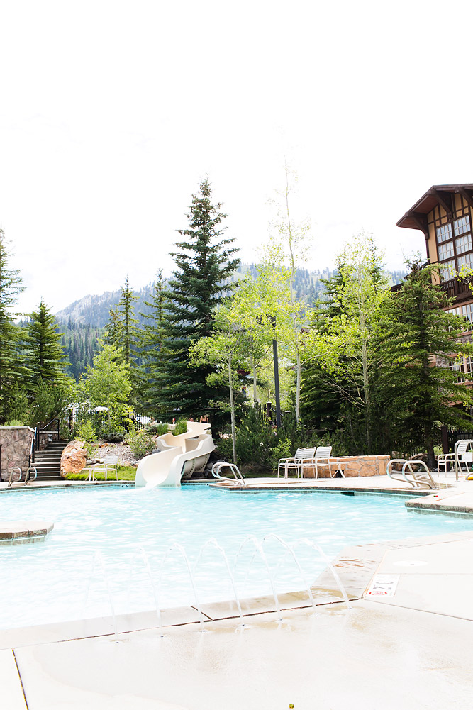 Outdoor Mountainside Pool at Club Solitude