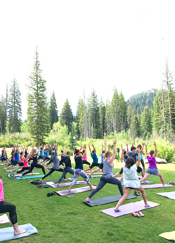 Mountainside Yoga at Solitude Mountain Resort