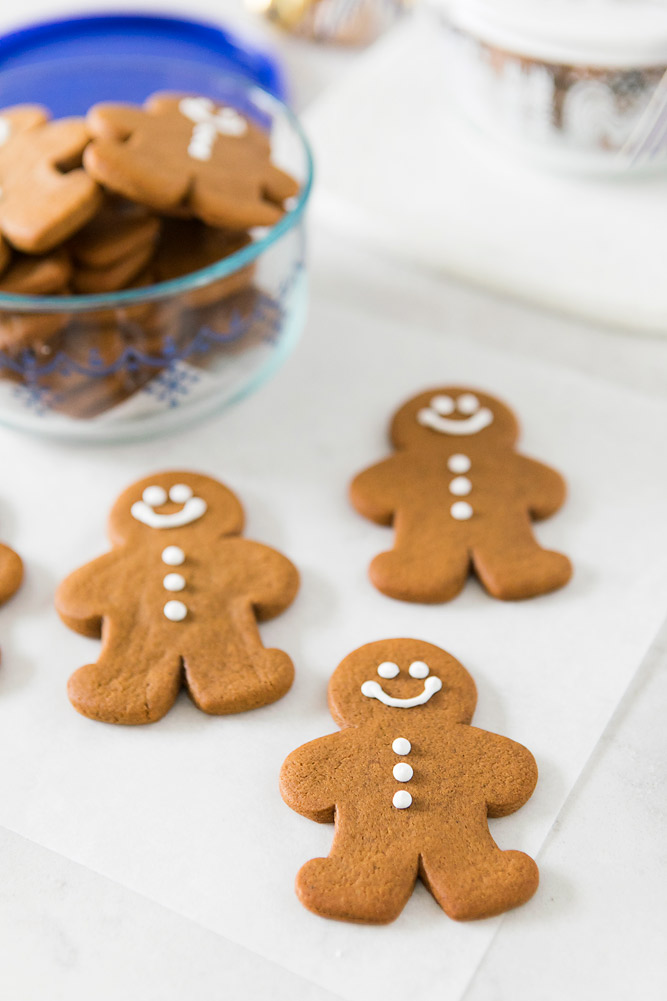 Chewy Gingerbread Man Cookie Recipe