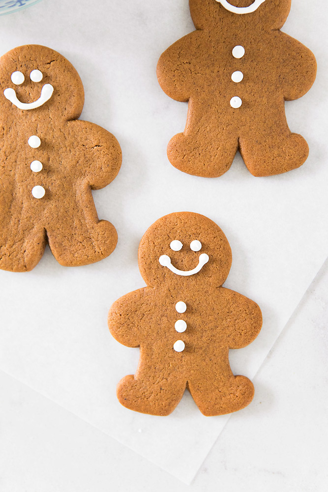 Egg Free Chewy Gingerbread Man Cookie Recipe