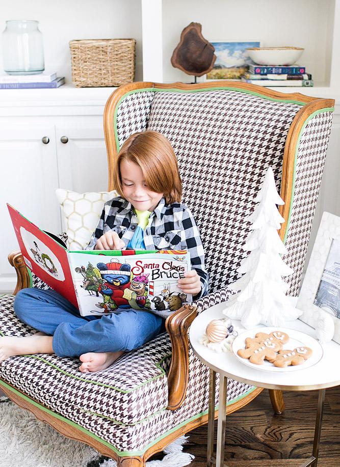 Disney Books Santa Bruce Kid's Christmas Books