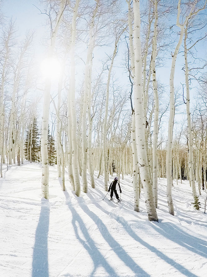 Magical Ski Weekend through the Aspens Deer Valley
