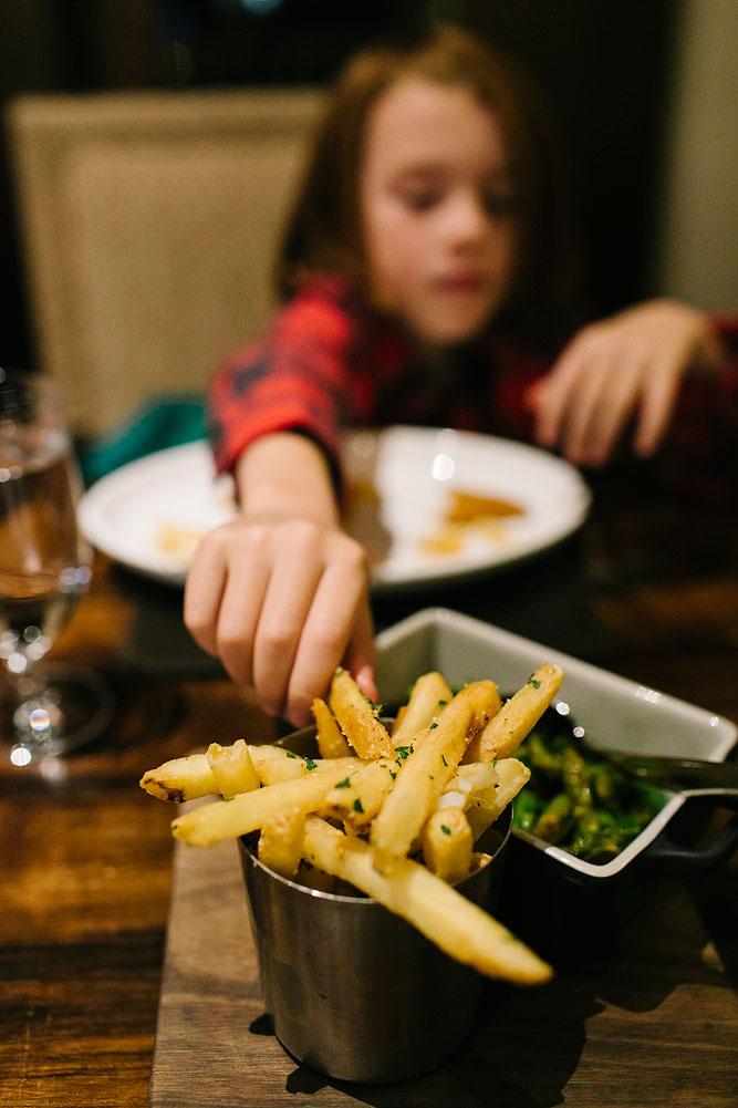 Truffle Fries Apex Restaurant Montage Deer Valley Apex