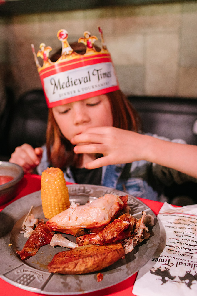 Medieval Times Feast