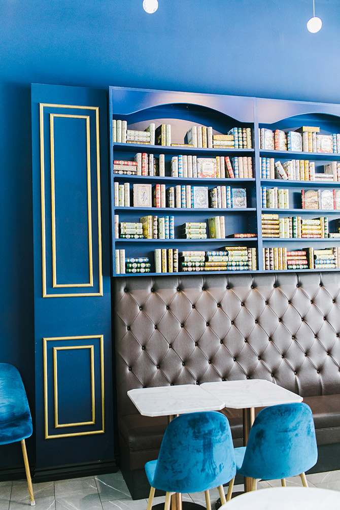 Basilur Tea Bookshelves