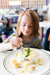 Basilur Tea Banana Soufflé Pancakes