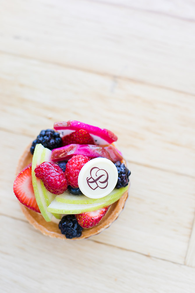 Portos Bakery Cafe Buena Park Fruit Tart