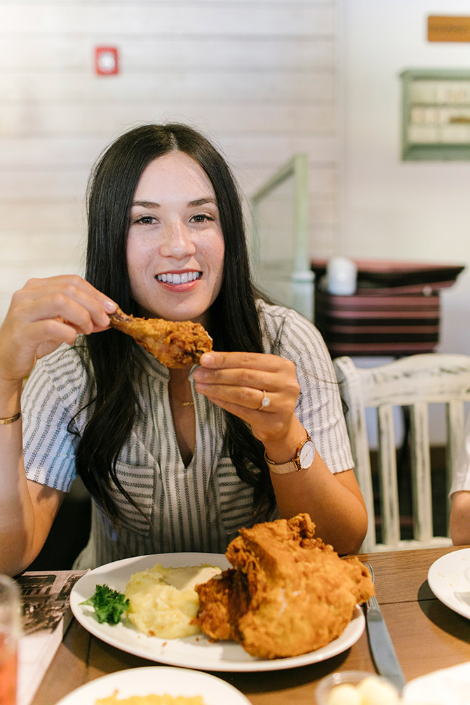 Mrs. Knotts Chicken Dinner Plate