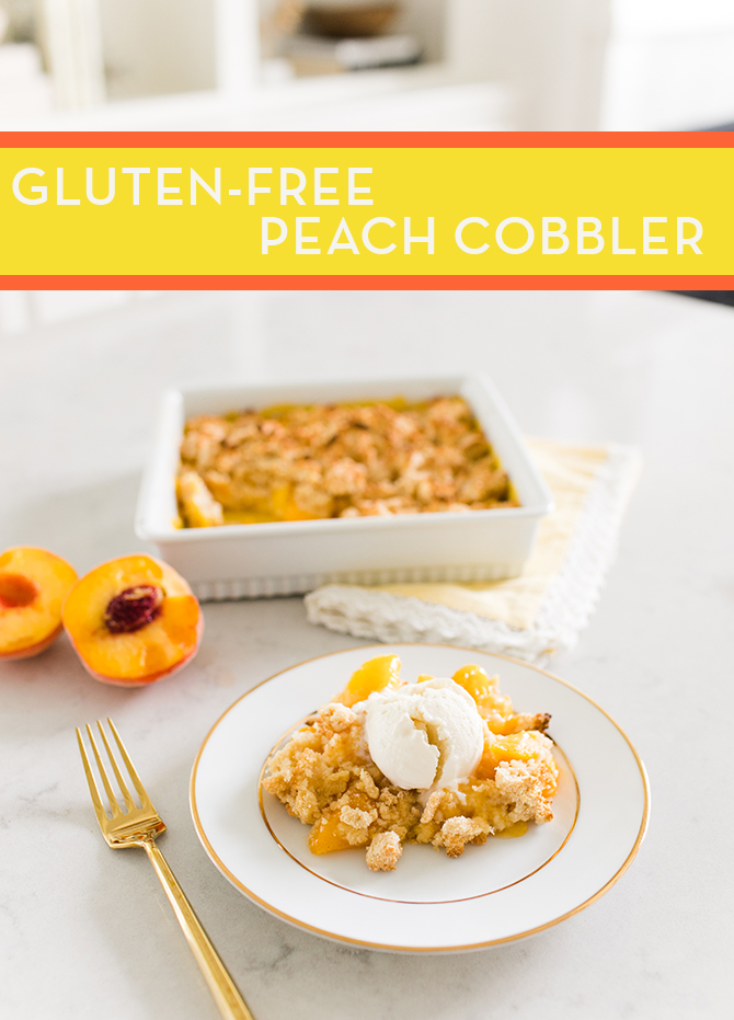 Peach Cobbler, Gluten Free Recipes, Peach Cobbler Recipe, Summer Recipe, Peach Season