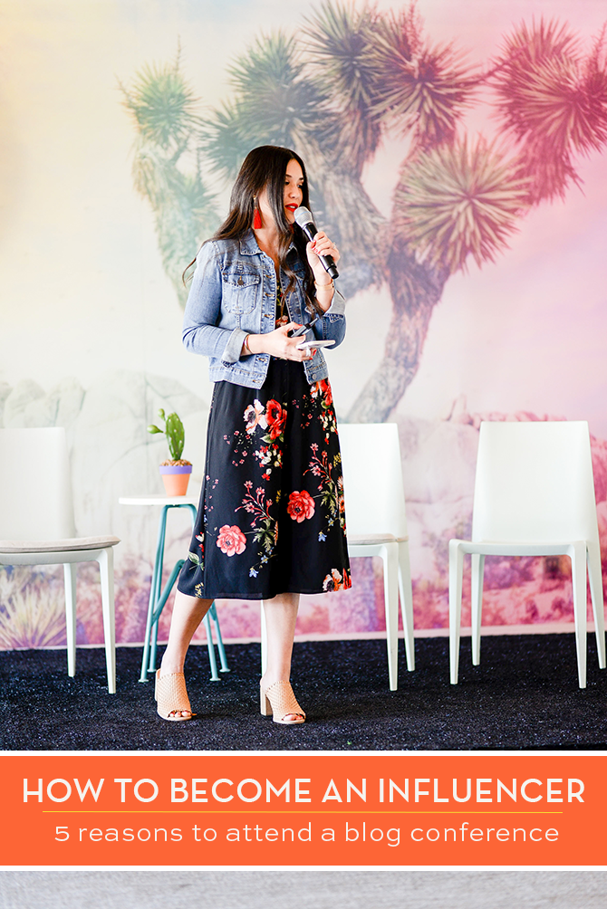 How to Become and Influencer and Work with Brands: BLOGHER 19