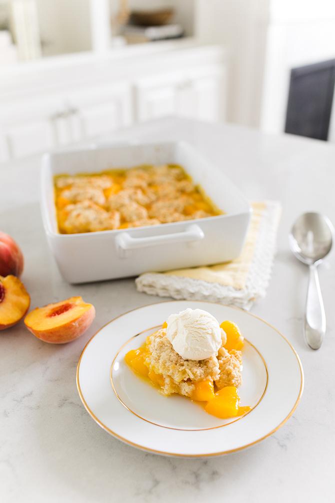 Peach Cobbler, Gluten Free Recipes, Peach Cobbler Recipe, Summer Recipe, Peach Season